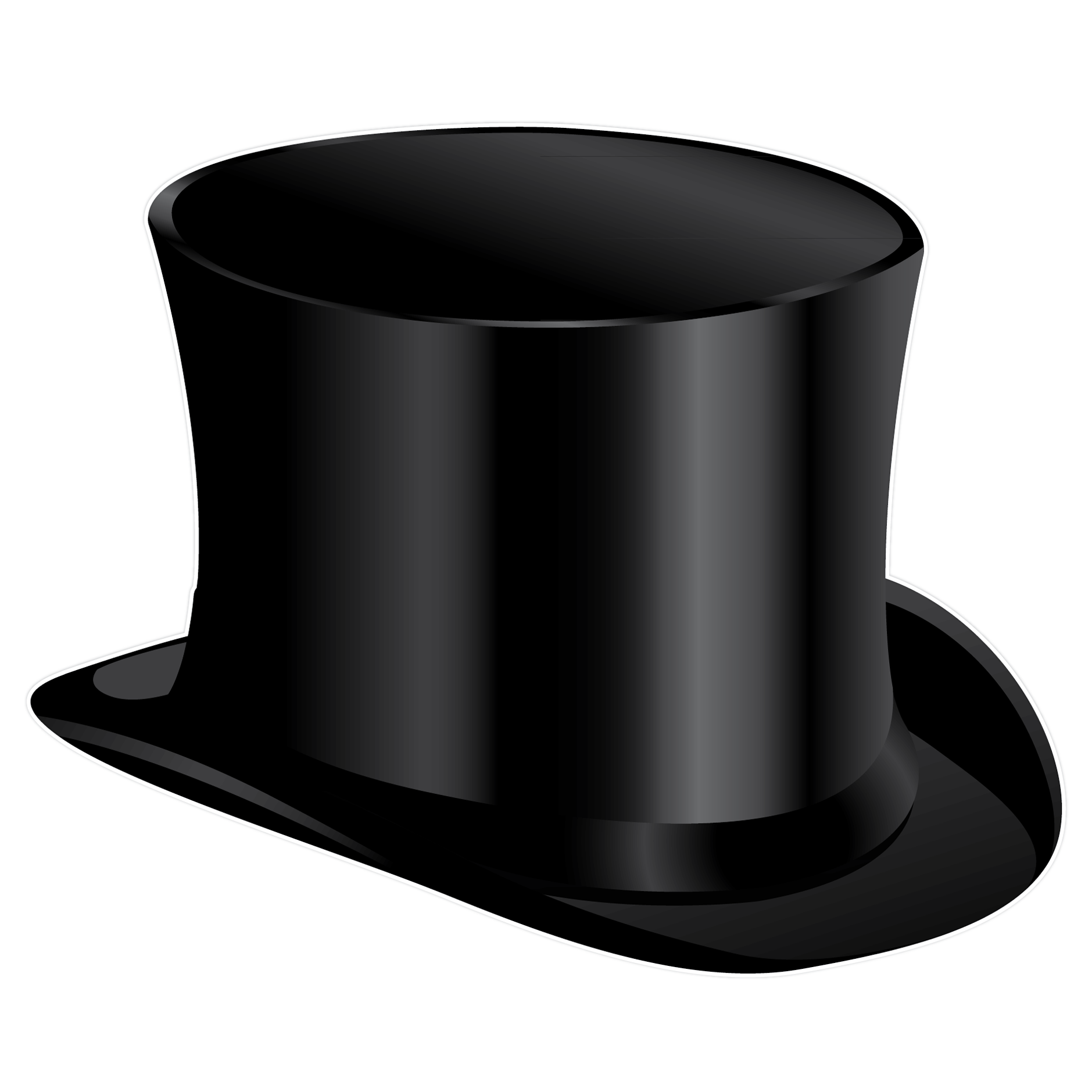 Top Hat Clipart - Clipart Kid