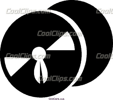 Clipart Movie Film Reel Black Icon Royalty Free Vector Clipart