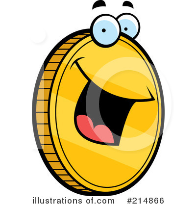 Coin Clipart  214866   Illustration By Cory Thoman