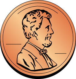 Coin Us Penny   Http   Www Wpclipart Com Money Coins Coin Us Penny Png