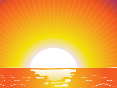 Cross On Ocean Clipart This Cross On The Horizon Of The Ocean With The