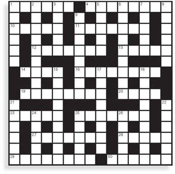 Crossword Puzzle Tattoo
