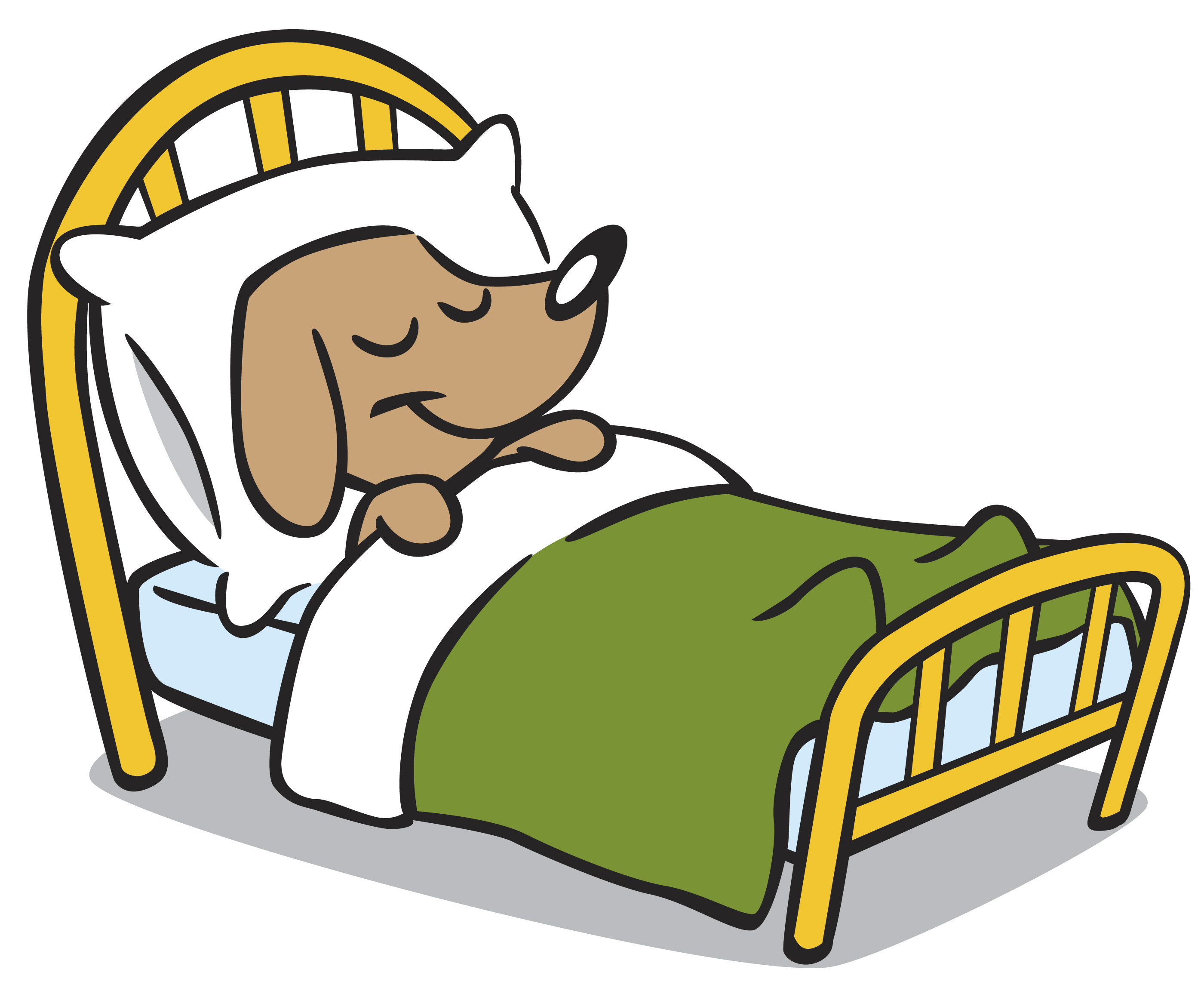 Clip Art Dog Bed Clipart - Clipart Kid