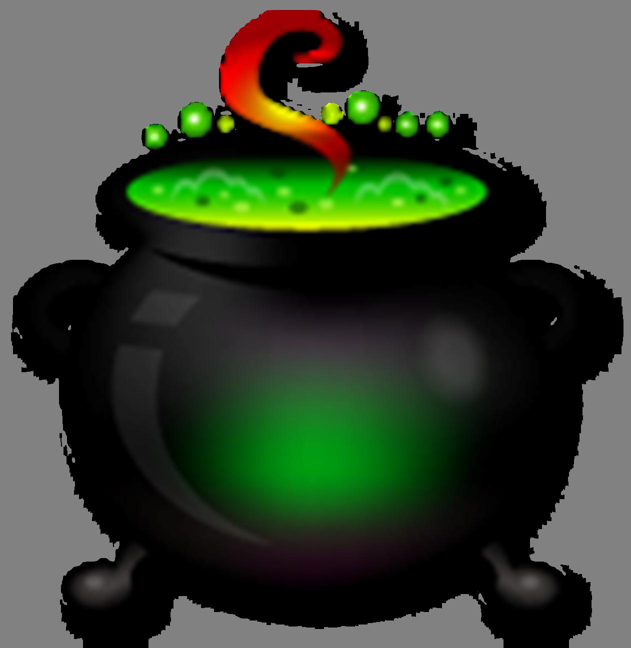 free halloween clipart witch cauldron - photo #8