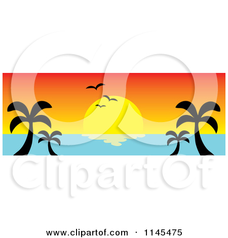 Ocean Sunset Clipart Images   Pictures   Becuo