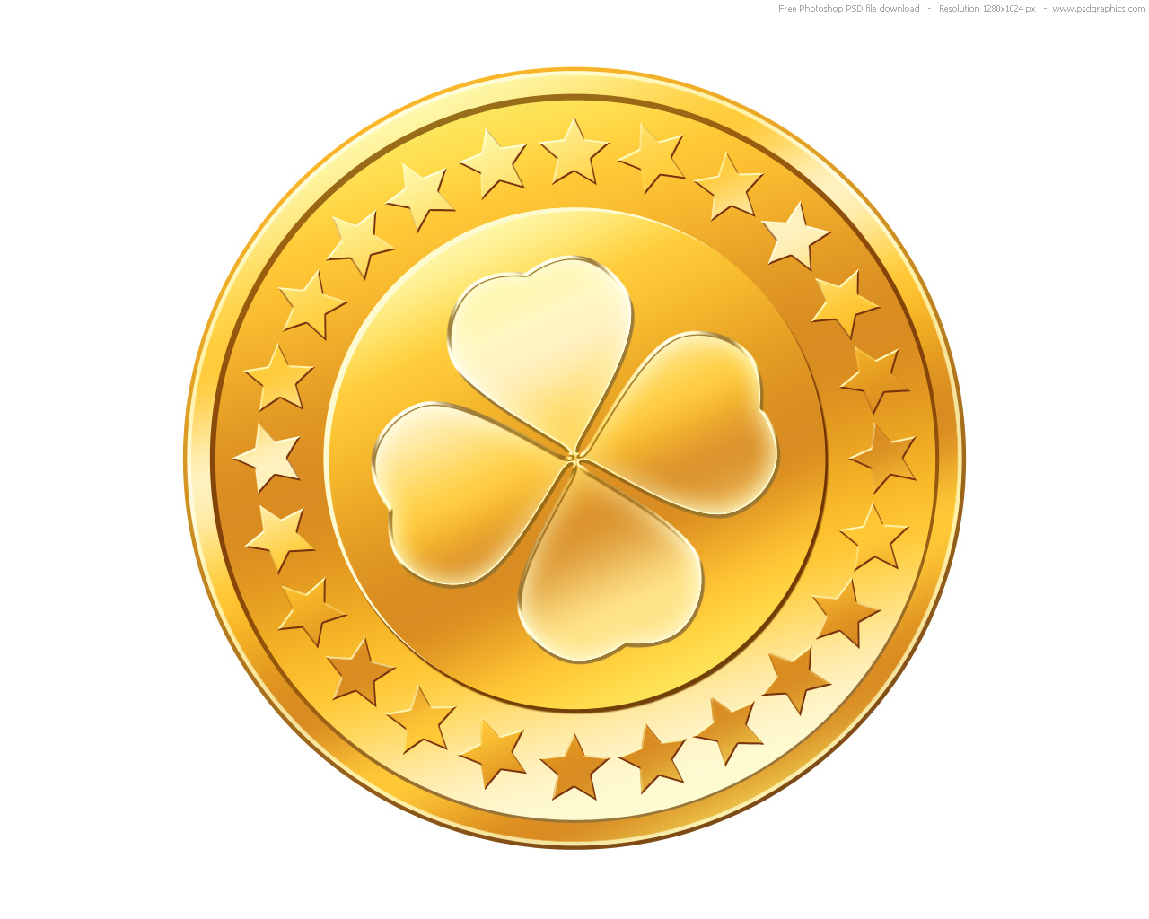 Gold Coin Clipart - Clipart Kid