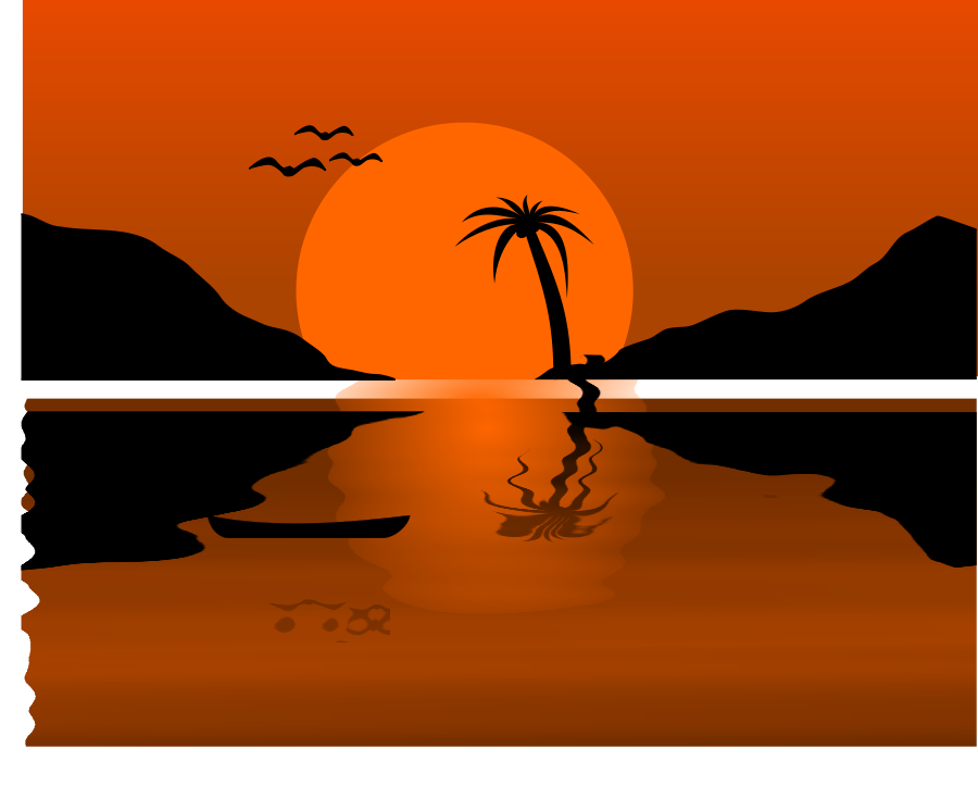 sunrise sunset clipart clipart suggest