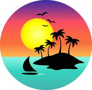 Sunset Clipart Free