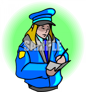The Clip Art Directory   Police Clipart Illustrations   Graphics