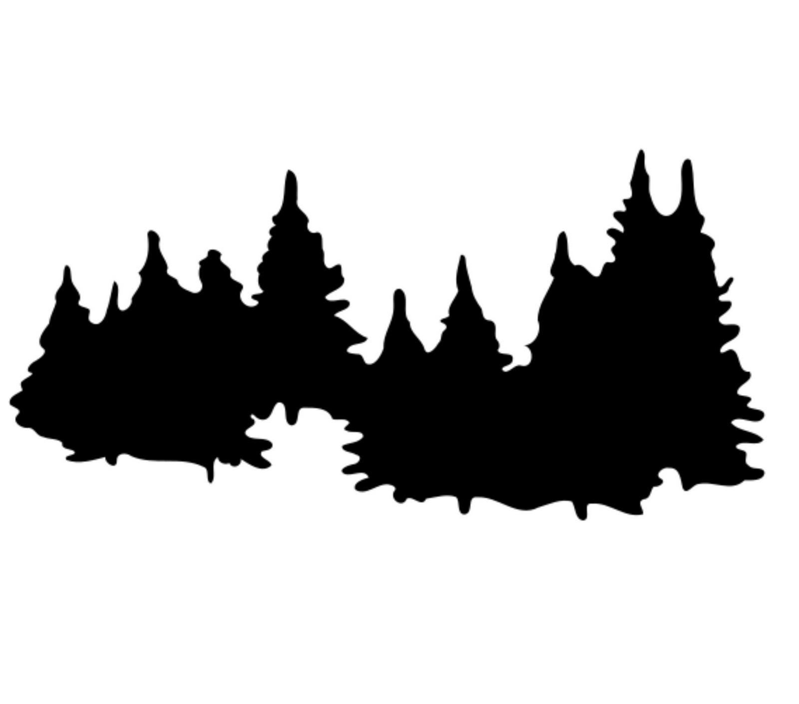 Viewing Gallery For   Forest Trees Clip Art