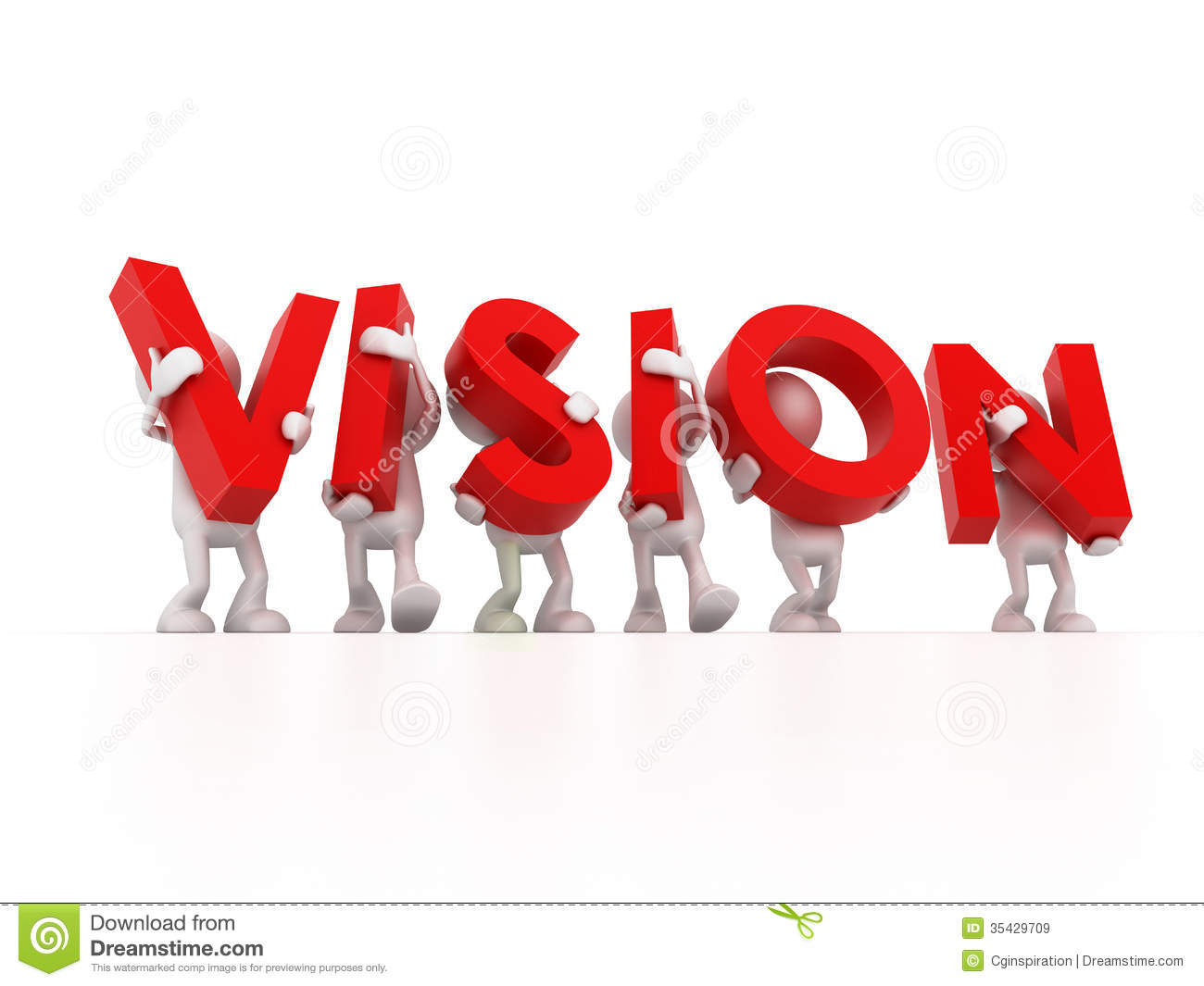 Vision Team Royalty Free Stock Images   Image  35429709