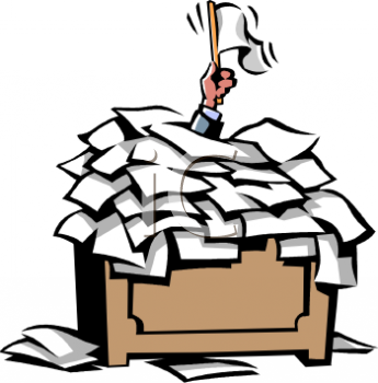 Piles Of Work Clipart - Clipart Kid