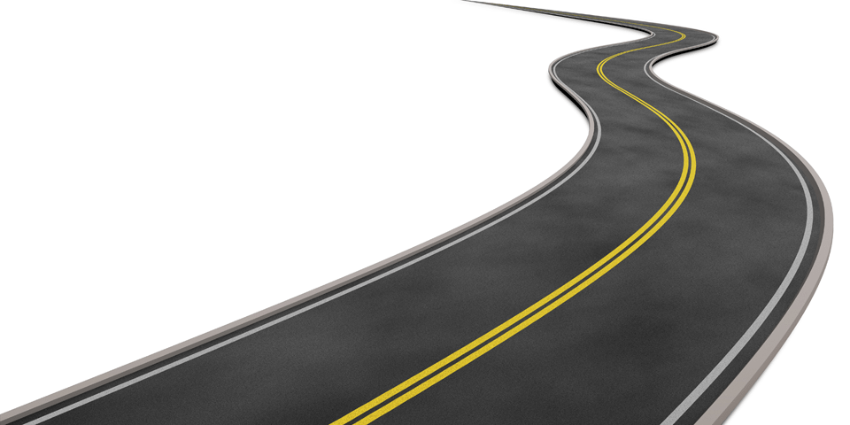 Curved Road Clipart Png Curved