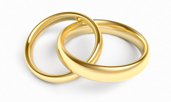 Gold Wedding Rings Image