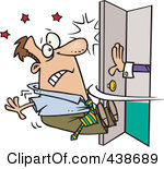 Person Knocking On Door Clipart Clipart Kid