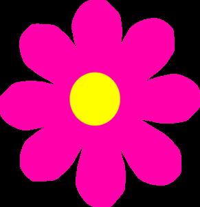 Pretty Pink Flower Clip Art At Clker Com   Vector Clip Art Online