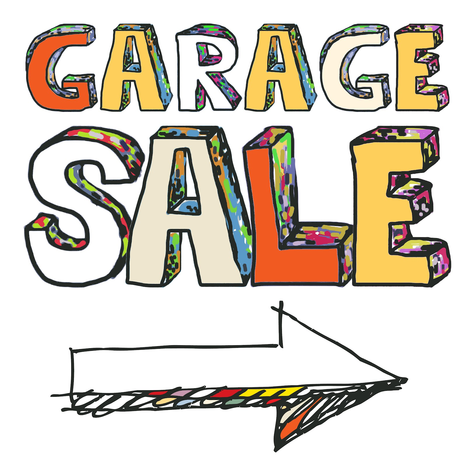 yard flyers clipart clipart kid quote unquote huge craft garage is on this weekend
