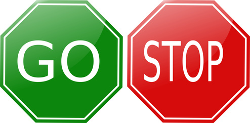 Stop And Go Signs Clipart - Clipart Kid