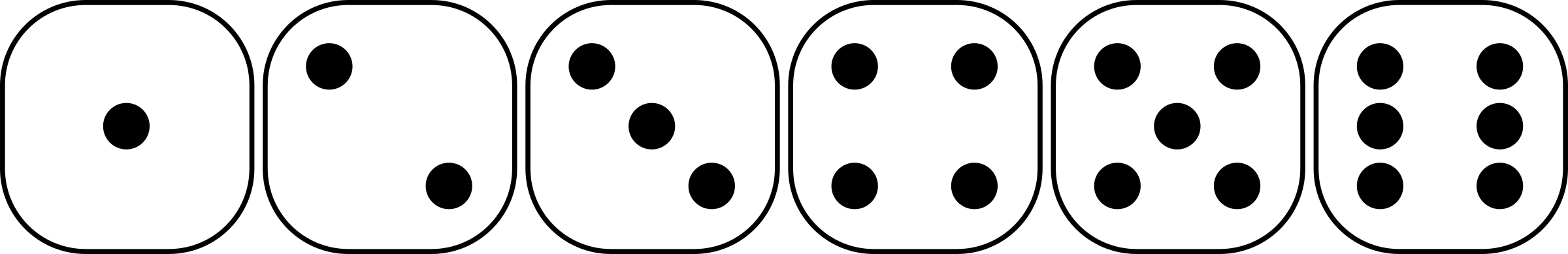 Six-sided Dice Clipart - Clipart Suggest