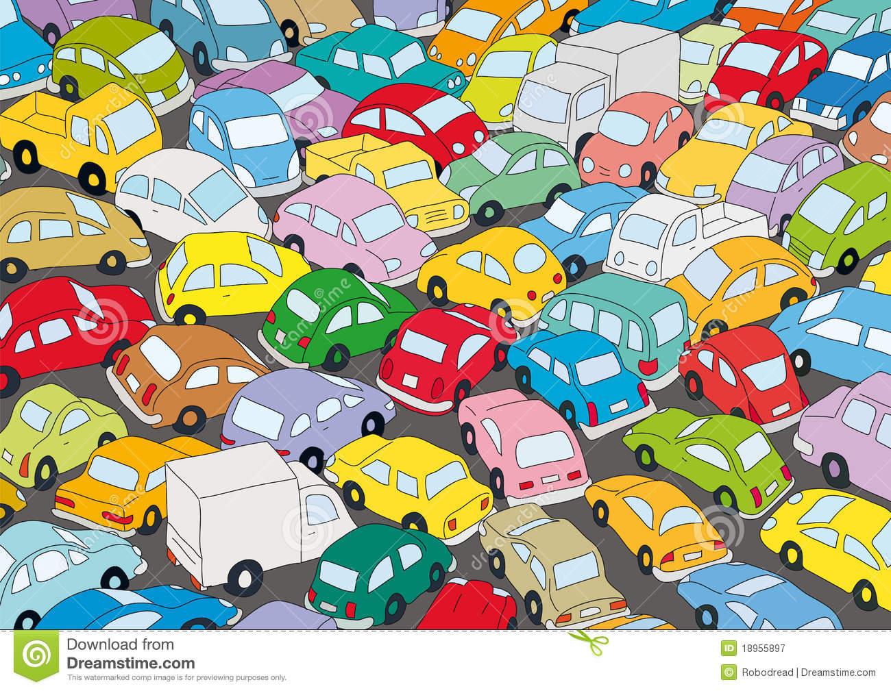 traffic jam clipart ile ilgili görsel sonucu