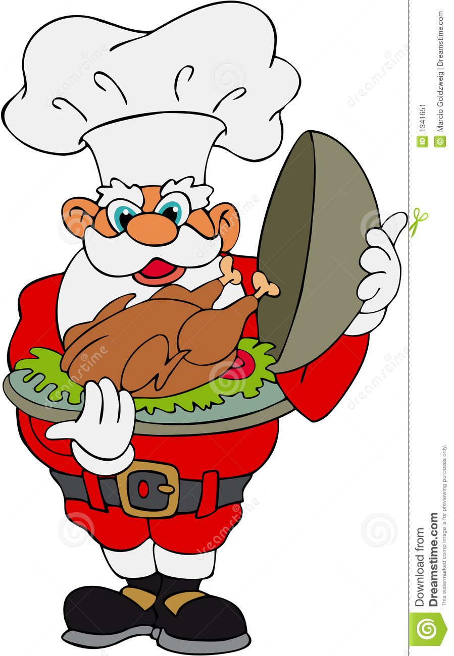 clipart christmas dinner pictures - photo #6