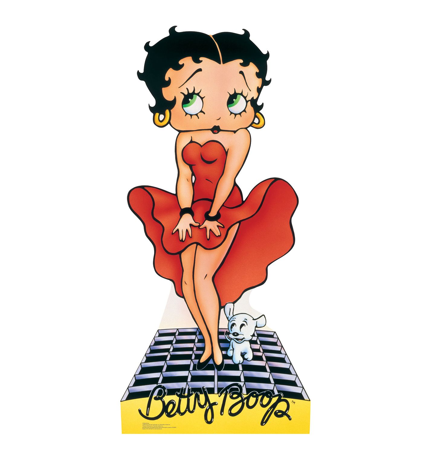 Betty Boop Red Dress 1