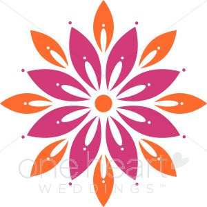 Bright Flower Clipart