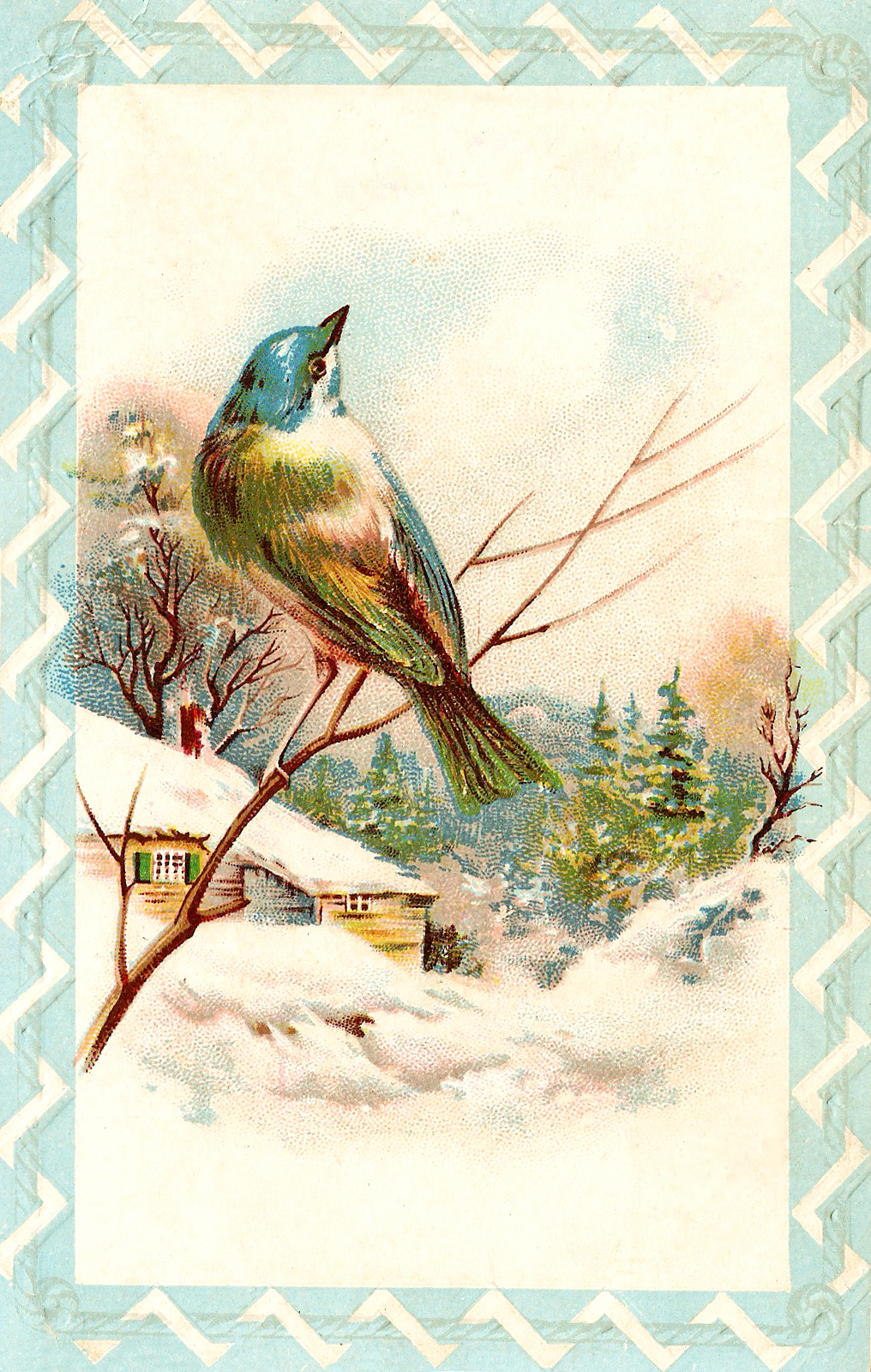 Catnipstudiocollage   Free Vintage Clip Art   Farewell To Winter