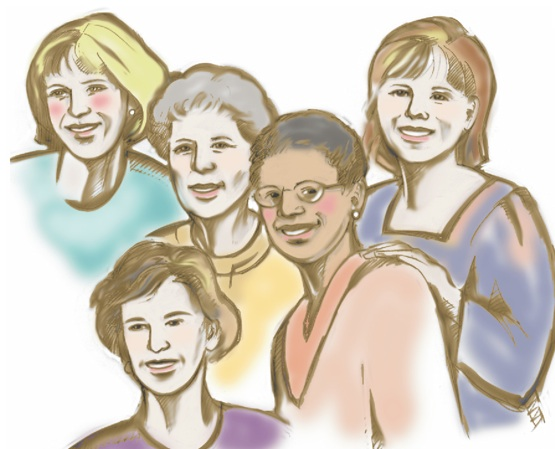 Women Support Group Clipart - Clipart Kid