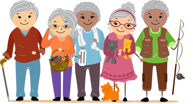 Clip Art And Information For International Day For The Elderly