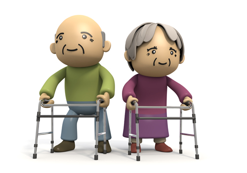 Elderly   Walking   Tool  Clipart   Download   Free