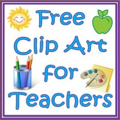 Free Clip Art For Teachers Royalty Free School Planning #4uiAhx ...