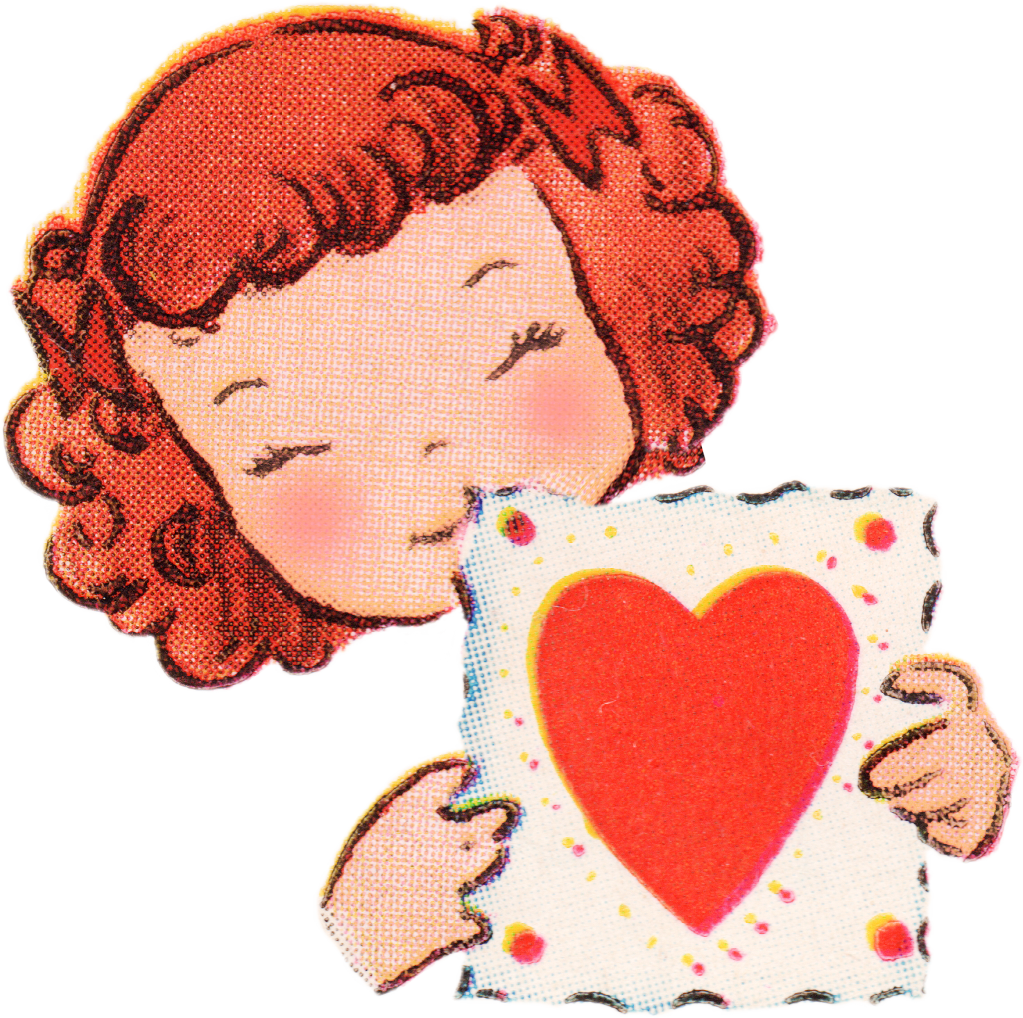 Free Vintage Valentines Day Clip Art   Free Pretty Things For You