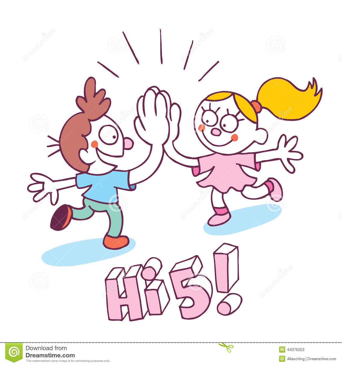 High Five Hand Clipart - Clipart Suggest