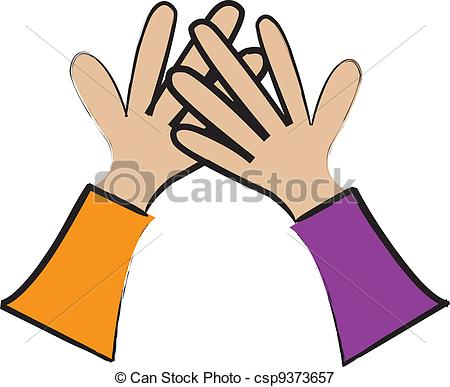 Hand High Five Clipart - Clipart Suggest