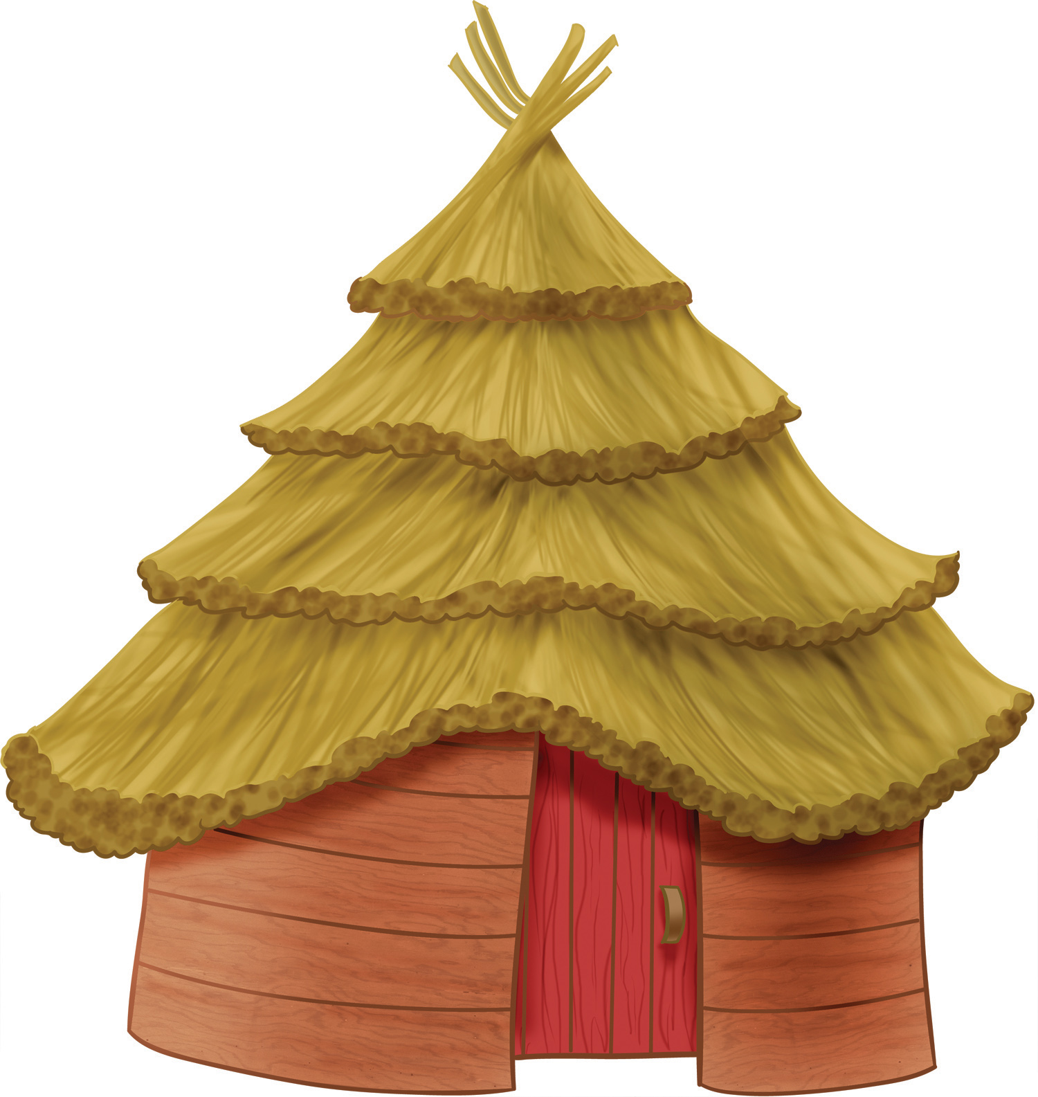 Hut Black And White Clipart - Clipart Suggest