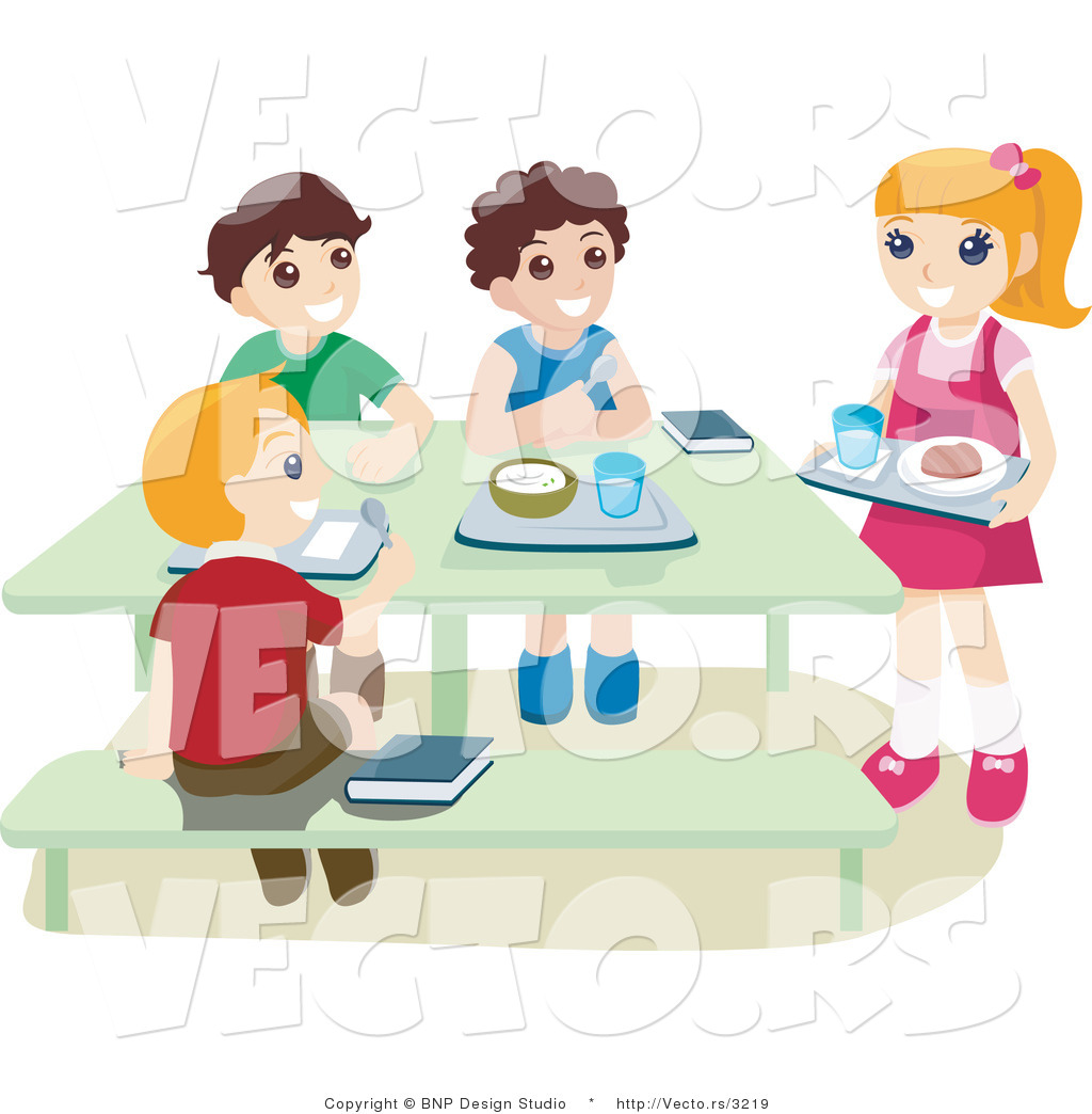 Kids Eating Lunch Clipart   Clipart Panda   Free Clipart Images
