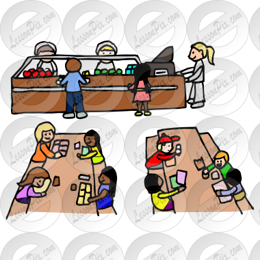 Picture For Classroom   Therapy Use   Great Cafeteria Clipart