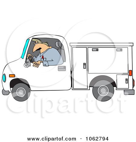 Royalty Free  Rf  Clipart Of Utility Workers Illustrations Vector