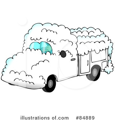 Royalty Free Utility Truck Clipart Illustration 84889 Jpg