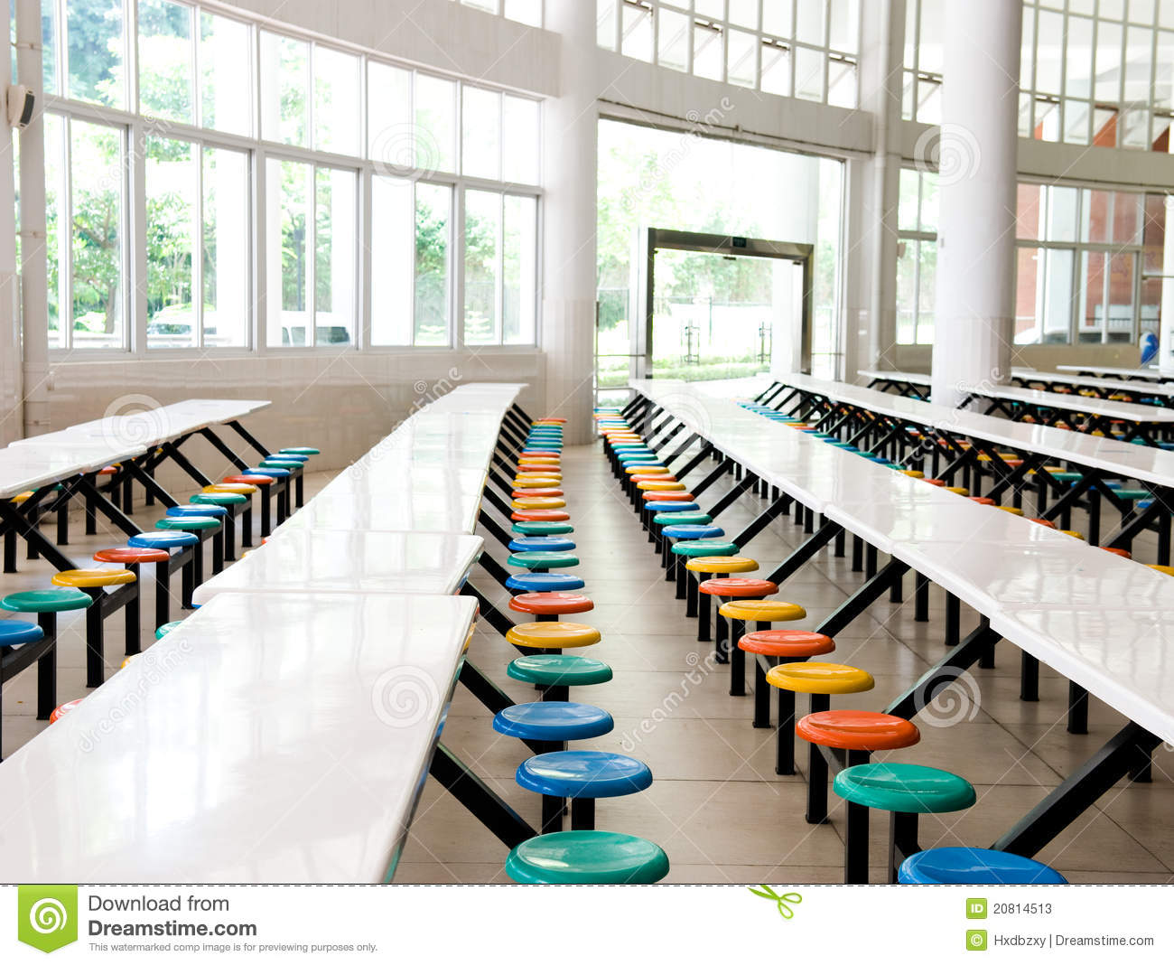School Cafeteria Stock Photos   Image  20814513