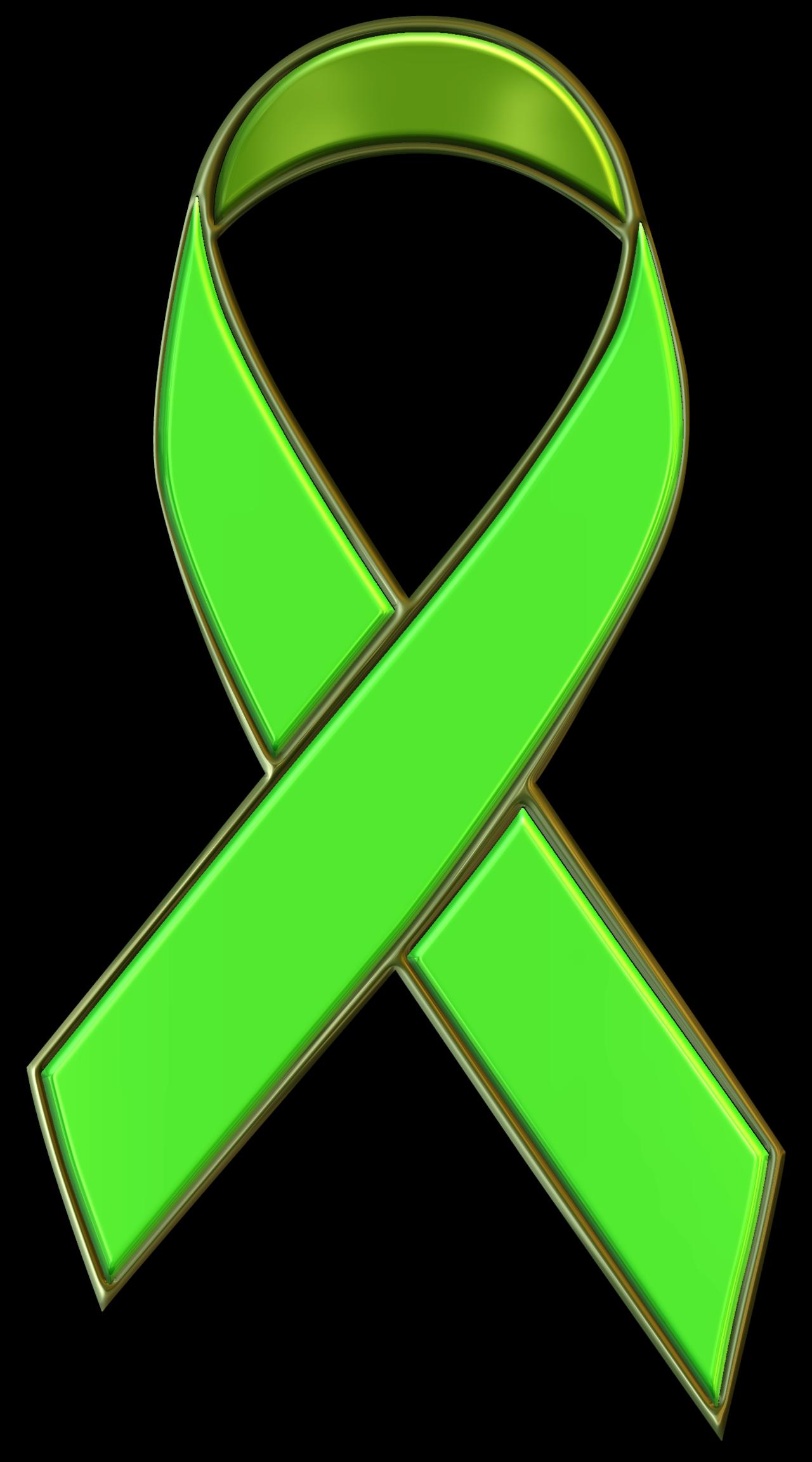 free clip art green ribbon - photo #23