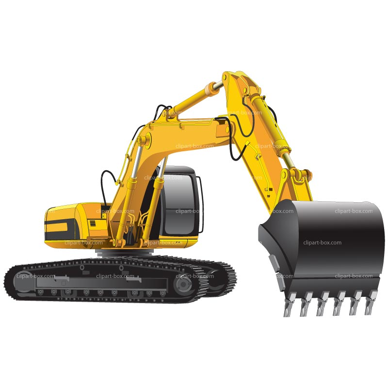 Excavator Clipart - Clipart Suggest