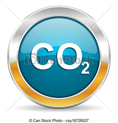 Clip Art Of Carbon Dioxide Icon Csp16726527   Search Clipart