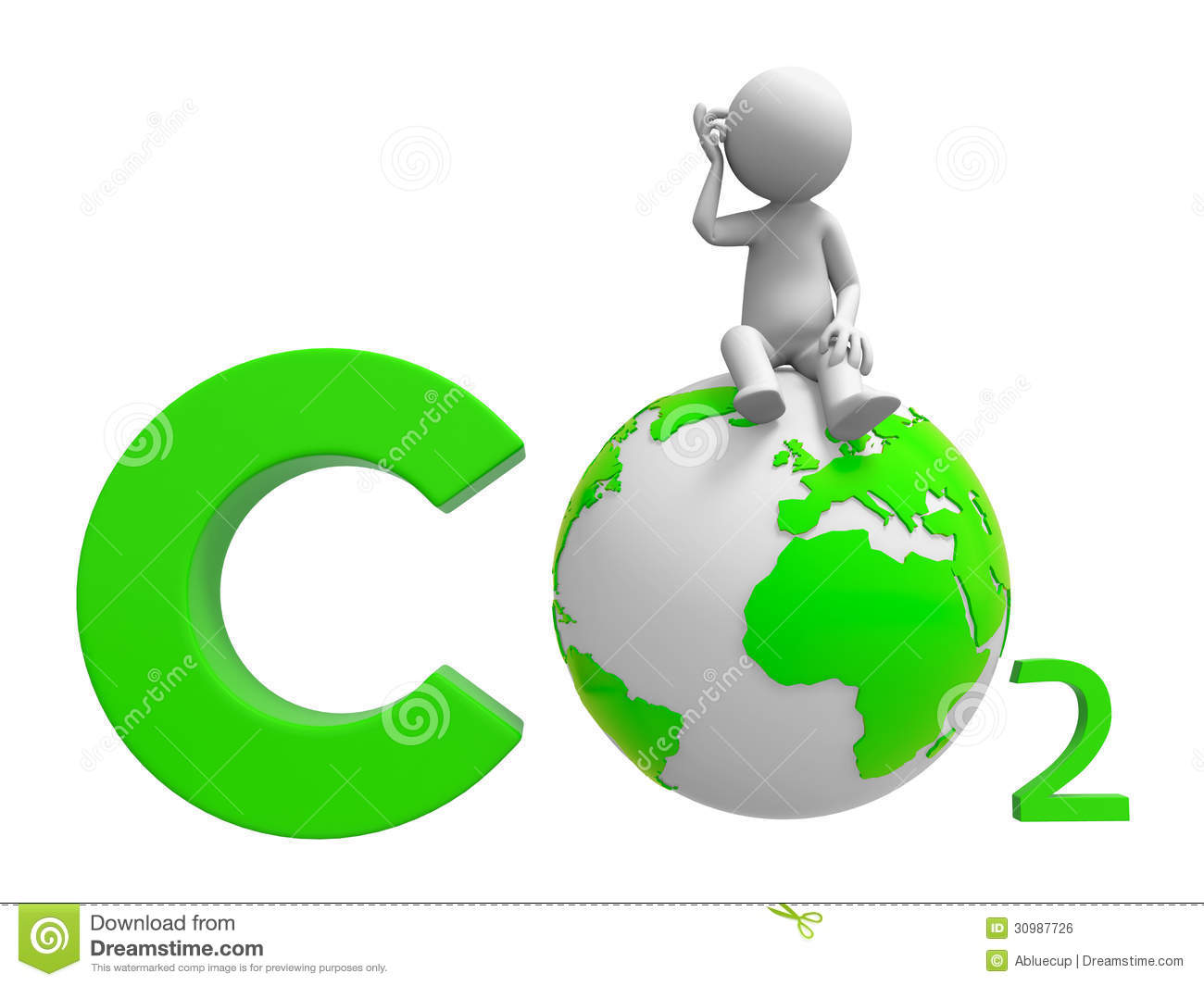 Co2 And Earth Royalty Free Stock Image   Image  30987726