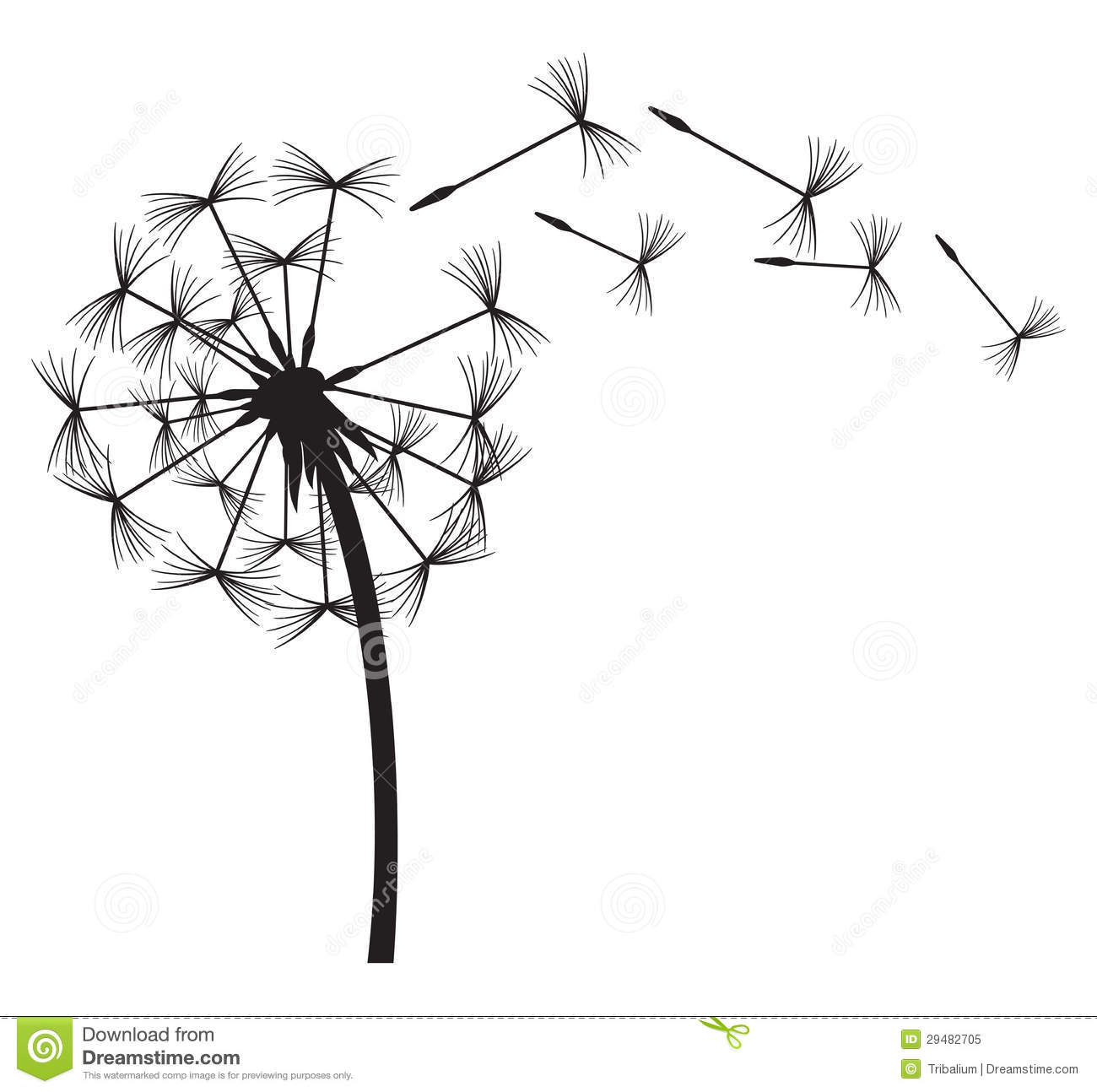 Clip Art Dandelion Clip Art dandelion clipart kid in the wind vector dandelion