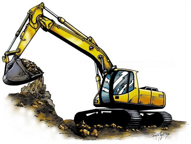 Excavator Graphics Pictures   Images For Myspace Layouts
