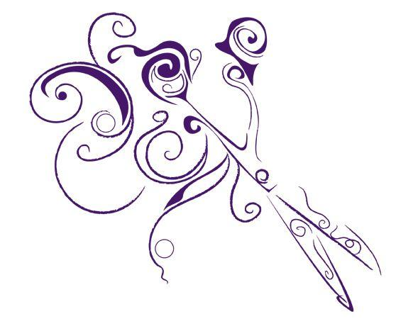 Hair Scissors Clip Art Hair Salon Scissors Clip