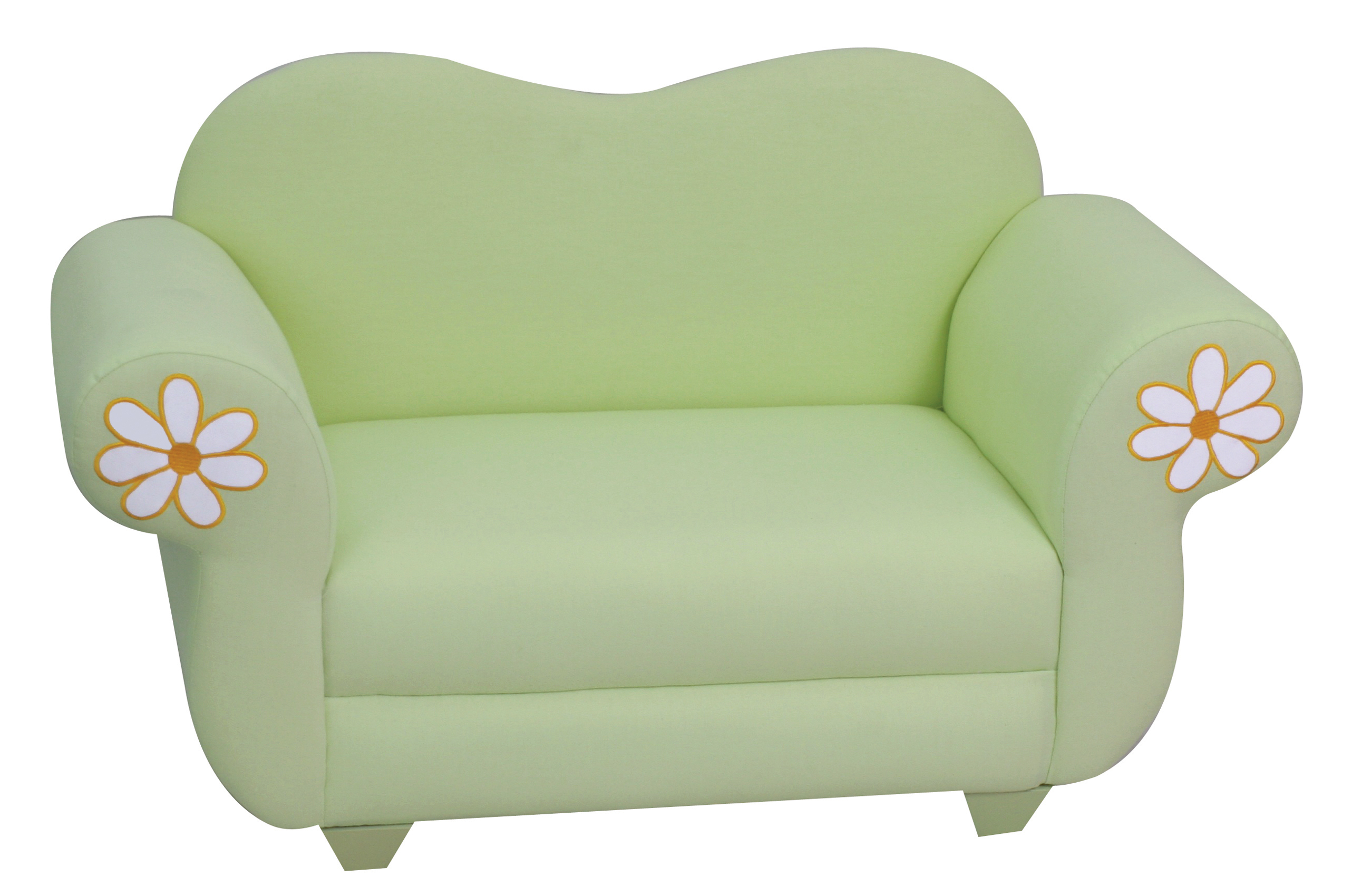 Kids  Sofa Chair Green