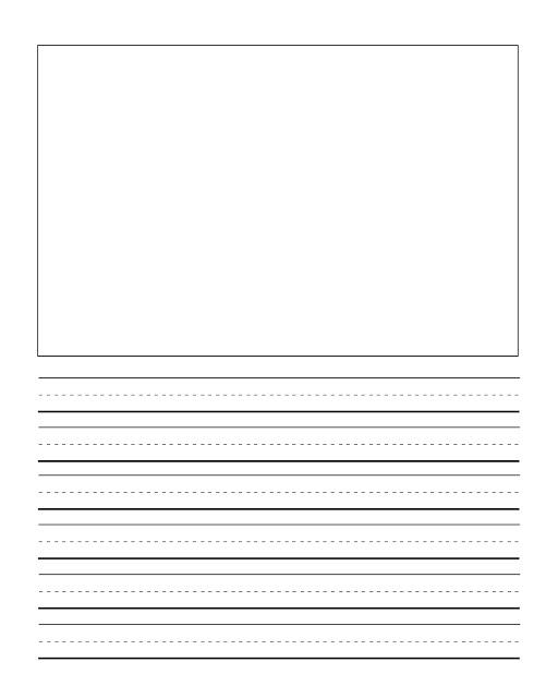 Kindergarten Writing Lines Clipart - Clipart Kid